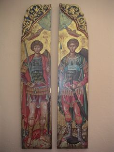 Byzantine Icons, My Art Studio, Orthodox Icons, Diy And Crafts, My Arts, Painting, Painting Art, Paintings, Painted Canvas