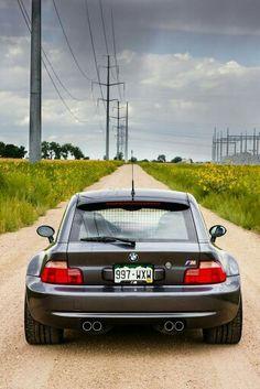 BMW Z3 M Coupe grey