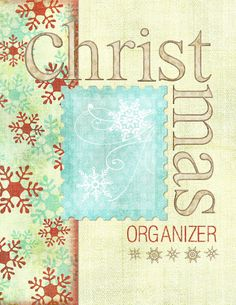 Free Printables for a Chistmas organizer! Most of it is a little intense but I like the budget/gift sheets.