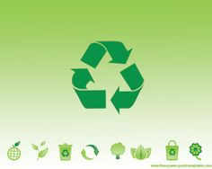 Reciclaje Verde Plantilla Powerpoint