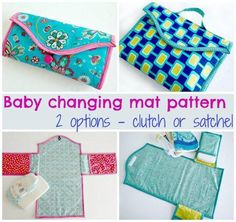 Baby changing mat - 2 options | Craftsy