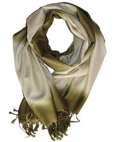 Cashmere Scarf Classic Green G