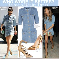 Who Wore It Better? Kendall or Jourdan? by nfabjoy on Polyvore featuring Christian Louboutin, Isabel Marant and Naomi Campbell