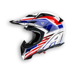 OFF ROAD - AIROH HELMETS - Moto helmets, motocross helmets, helmets motorcycle, crash helmets | Airoh Off Road AVIATOR CAPTAIN AVCP38 GLOSS