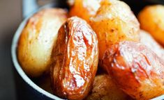 Recette de pommes de terre grenailles à l'ail par Alain Ducasse