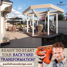 Do you have a dream backyard renovation idea that you want to make into a reality? Visit our website to get started and learn more of our services! Ready To Start, Backyard Renovations