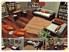Living Room New Yor CHEZ MOI