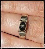This ring is a pretty Vintage Magickal.  Size 8. SS  This item is from the personal magickals collection of a vintage witch. :)  We made a trip to her at her request as she is has just turned 85 and i