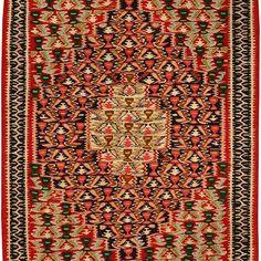 Sena Kuri Kurdish Hand Knotted Killil  Size: 1.15 M x 0.80 M Knots, Bohemian Rug, Rugs, Home Decor, Farmhouse Rugs, Decoration Home, Room Decor, Knot, Carpets