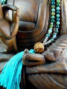 Mala Beads Mala Beads Tassel Mala Mala by goodmedicinegemstone