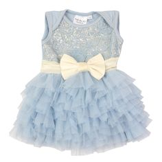baby onesie with tulle