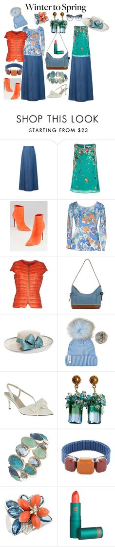 """""""Winter to Spring"""" by silver-sister-style ❤ liked on Polyvore featuring Uttam Boutique, Christian Louboutin, Patrizia Pepe, Herno, The Sak, Brooks Brothers, Bobbl, Nina, Anne Klein and Isabel Marant"""