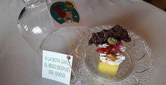 Receta de Punto y final (Pastel de queso) de Salvador Muñoz, ganador del concurso de cocina innovadora de Chef Sierra de Cádiz