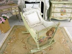 romantic-green-cradle-sweet-nursery