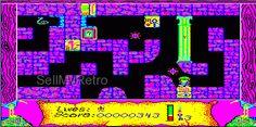 Sinclair QL Arcade Game: The Lost Pharaoh