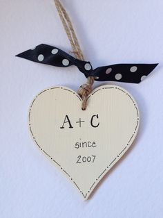 #sale***£3*** #wooden #heart #personalised #love