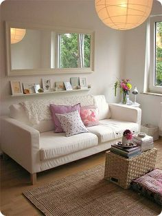 Relaxed, light and simple #neutral #livingroom
