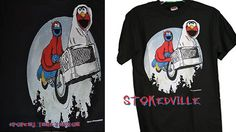 ET and Sesame Street T-Shirt available at WWW.Stokedvillellc.bigcartel.com #Popculturecollison