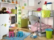 Create bedroom that grows with the child. Invest in furniture that will work over time, then add accessories.