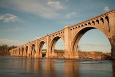 Roman Inspired train trestle in Richmond, VA