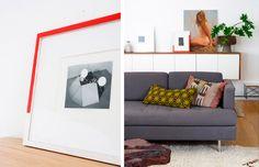 Dashes of color in decorating. #idea #decor #interior #design #casadevalentina
