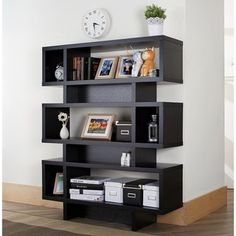 Furniture of America Tier Display Cabinet/ Bookcase - Free Shipping Today - Overstock.com - 12506187 - Mobile