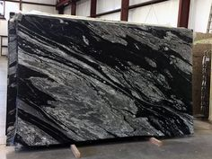 Black Mountain Satin Granite Slab 7453