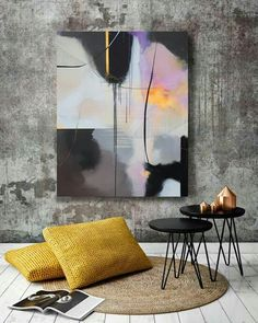 Modern Art, Contemporary Art, Wall Art Wallpaper, Paintings I Love, Abstract Wall Art, Unique Art, Painting Inspiration, Creative Art, Art Pieces