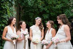 Such an elegant bridesmaids look!