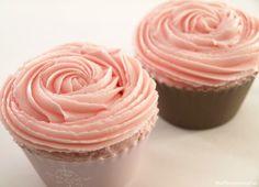 Cupcakes de fresa - MisThermorecetas.com