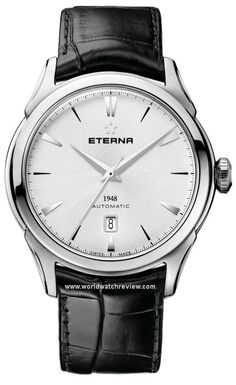 Eterna 1948 Evolution Automatic (silver-toned dial)