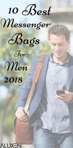 10 Best Messenger Bags For Men 2018 | Featuring designer messenger bags for men, leather messenger bags for men, affordable messenger bags for men, and must-have messenger bags for men for the 2018 year! #Aluxen #Messenger #Bags #MensFashion
