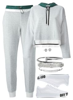 """""""Untitled #450"""" by katiemarte ❤ liked on Polyvore featuring T By Alexander Wang, MICHAEL Michael Kors, Vans, Cartier and Blue Nile"""