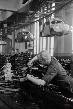 VW - Factory assembly.