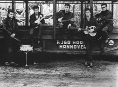 Old school Beatles with Pete Best & Stu Sutcliffe.