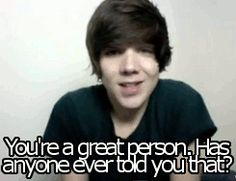 If you're feeling down or anything go to youtue and look up DeeFizzy! amazing
