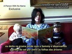 Michael Jackson lendo para Prince e Paris! (legendado)