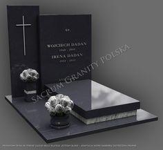 PROWADZIMY BIURA NA TERENIE CAŁEGO KRAJU, DLATEGO JESTEŚMY BLISKO TWOJEGO CMENTARZA. Zadzwoń, napisz, zapytaj o wycenę nagrobka.  KONTAKT: biuro@sacrum.info.pl… Tombstone Designs, Cemetery Decorations, Funeral, Altar, Place Card Holders, Granite, Grave Decorations, Pets, Easy Crochet