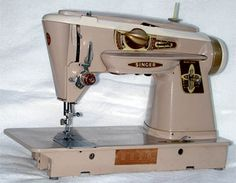 Singer 500A Slant-O-Matic, the best sewing machine ever made, never missed a stitch