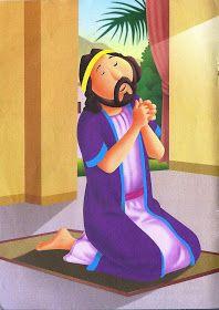 Daniel história bíblica colorida Kids Zone, Tumblr Wallpaper, Bible Stories, Disney Characters, Fictional Characters, Retro, Children's Bible, Lion's Den, Mothers Day Cartoon