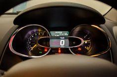 Clio GT-Line instrumentation