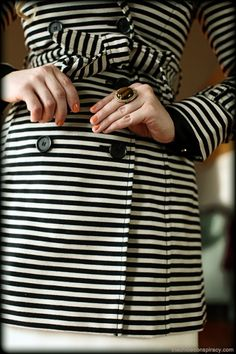 Striped trench.