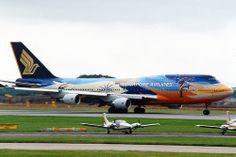 Boeing 747-412 Singapore Airlines 9V-SPK