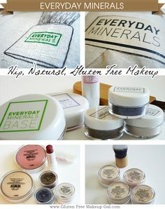 Everyday Minerals - Love their make-up. It lasts forever, great quality, and affordable. And always ships right away! :)
