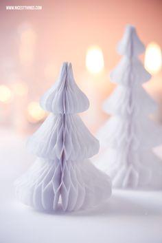 Buddel-Adventskalender: Schneelandschaft in Weiß