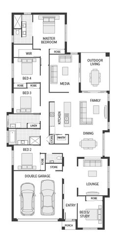 L Shaped House together with Floor Plans moreover Two Story Farmhouse Plans additionally Garage Plans 2 Story likewise Main. on modular homes with attached garage