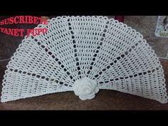 COMO TEJER UN ABANICO A CROCHET - YouTube Diy And Crafts, Crochet Hats, Ideas Para, Crocheting, Youtube, Christmas, Crochet Stitches, Felting, Jackets