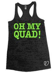 Oh My QUAD! Tank - Abundant Heart Apparel