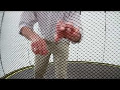 The Net: The Springfree™ Trampoline net is called a flexible trampoline enclosure for a reason! Dr. Keith Alexander uses our 10 ft. trampoline to demonstrate how the FlexiNet™ keeps you from falling off or hitting a rigid trampoline enclosure poll.