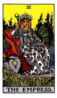 LA EMPERATRIZ, Significado de las cartas del Tarot